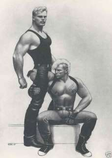 Tom of Finland Homoerotic Beefcake Pin up Print 0410