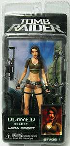 LARA CROFT TOMB RAIDER PLAYER SELECT STAGE 1 Action Figure