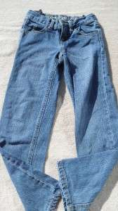 GYMBOREE ROCKY MOUNTAIN SWEATER CRAZY 8 JEANS GIRLS SIZE 6; GUC
