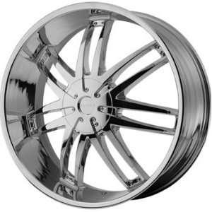 Helo HE868 22x9.5 Chrome Wheel / Rim 6x135 & 6x5.5 with a 15mm Offset