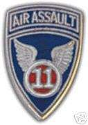 ARMY HAT PIN. 11th AIR ASSAULT DIVISION