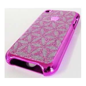 Apple Iphone 2g Original Pink Silver Flower Design Case