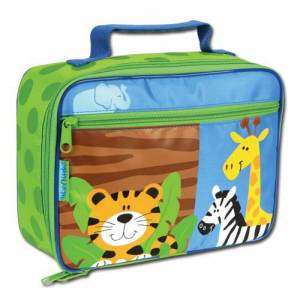 Stephen Joseph Boy Zoo Animals Tiger+ Lunch Box NWT