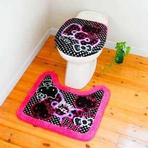 NEW Hello Kitty Bath Accessory Ribbon Dots Sanrio Japan