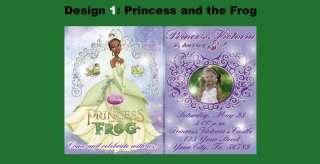 Princess And The Frog Custom Birthday Invitations