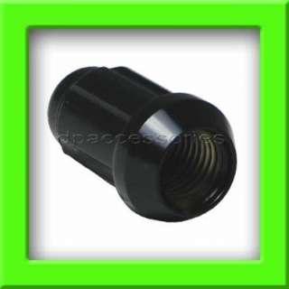 20 Black Chrome Tuner/Spline Drive Lug Nuts/Wheel Lugs