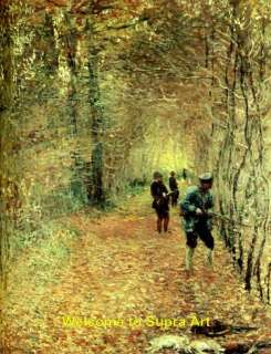 The Shoot Claude Monet repro oil painting