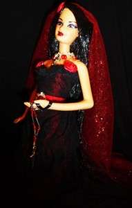 Gothic Romance Beauty ~ OOAK Barbie doll