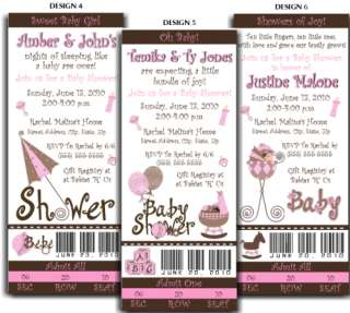 Tres Chic Baby Shower Candy Bar Wrappers Party Favors