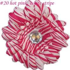 50 4Gerbera Daisy Peony flower Clips Baby Hair Bow