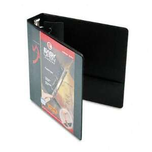 EasyOpen Clearvue Locking Round Ring Binder, 2in Capacity