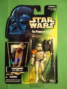 Star Wars Kenner Sandtrooper Action Figure Carded