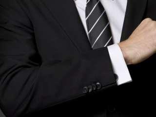 Landisun Custom Made Dark Blue Mens Suit(2PCS) CMS017