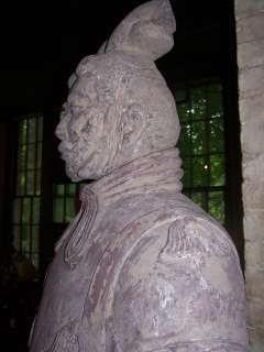 Chinese LifeSize 85 Tall Terra Cotta Warrior fromXian
