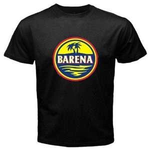 Barena Colombian Beer Logo New Black T shirt Size XL