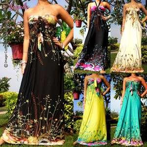 NEW Summer Ladies Bridal Evening Sexy Long Maxi Dress