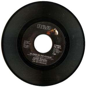 Dolly Parton Kenny Rogers I WILL ALWAYS LOVE YOU 45 RPM