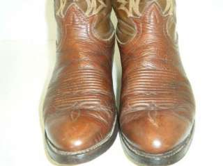 TONY LAMA Western Boots Size 8.5 D Mens Used