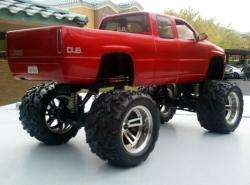 Silverado 4x4 Pickup MONSTER TRUCK Dub City Big Wheels diecast