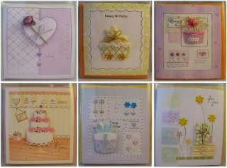 Beads Ribbon Friendship Birthday Greeting Card Cards lots Pack