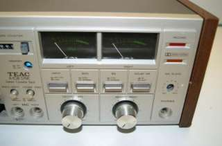 Teac A 108 SYNC Cassette Deck Tape Player Vintage Parts