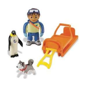 Go Diego Go! Animal Playpack   Diegos Arctic Rescue Toys & Games