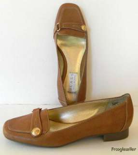 Blass by Bill Blass womens Boscha loafers shoes 6 M brown leather