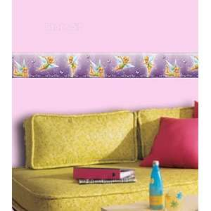 Disney Tinkerbell Wall Border   Fairies Girls Room Wallpaper Border