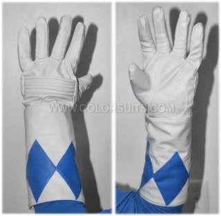 Mighty Morphin Power Rangers Blue Ranger Gloves Cuffs