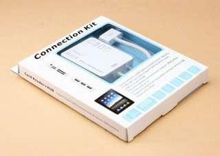 5in1 HUB USB SD Card Reader iPad Camera Connection Kit