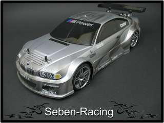 Seben LXR XK57 BMW M3 E46 GTR 4WD RTR 110 Nitro RC Car