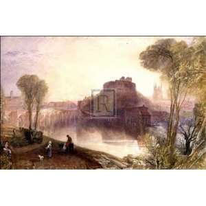 Joseph Mallord William Turner   TAMWORTH CASTLE