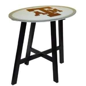 Texas A&M Aggies TAMU NCAA Logo Pub Table Sports