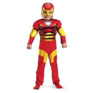 Party By Disguise Inc Iron Man Muscle Toddler Costume / Red   Size 2T
