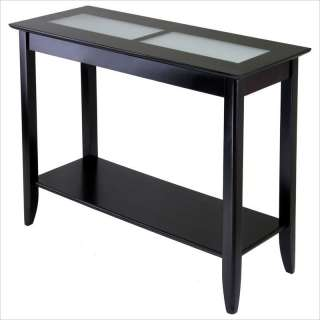 Winsome Syrah Solid Wood Espresso Console Table 021713922403