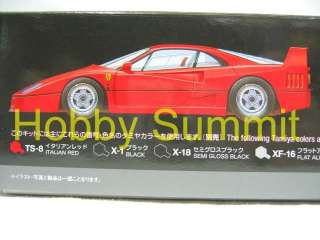 Tamiya 1/24 FERRARI F40 in Red Model Kit MIB !!