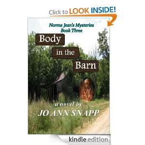 Body in the Barn Norma Jeans Mysteries Book Three Jo Ann Snapp