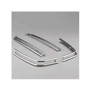 Gold Wing Chrome Saddlebag Rail Set pt# 08P52 MCA 100 Automotive