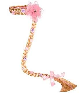 Disney Rapunzel Tangled Costume Hair Braid Crown Wig