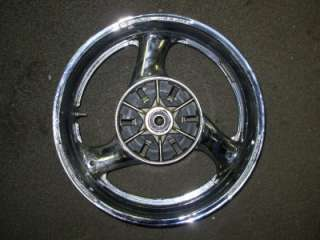 GSXR1100 GSXR 1100 SUZUKI CHROME WHEELS WHEELSET DRAG BIKE L@@K