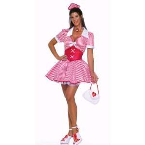 Sweet Candy Striper Womens