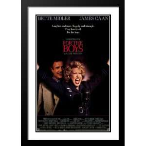 and Double Matted 20x26 Movie Poster: Bette Midler: Home & Kitchen