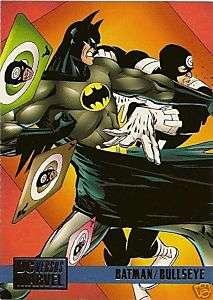 BATMAN/BULLSEYE #70 1995 DC Vs Marvel card Wagner
