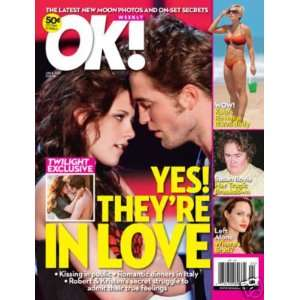 OK! Weekly June 15, 2009 Robert Pattinson   Kristen