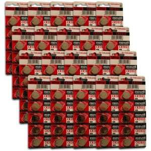 Button Coin Cell Battery 1 Box of 100 Batteries: Camera & Photo