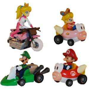 Super Mario Kart Figures Set of 4 Toys & Games