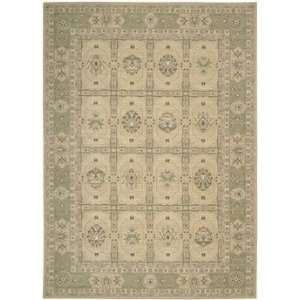Nourison 25545 Persian Empire Medium Rug Rug   Sand: Home
