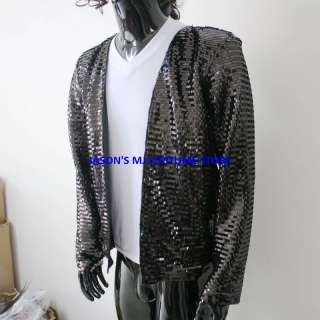 MICHAEL JACKSON BILLIE JEAN BUCHAREST SEQUIN JACKET MJ COSTUME
