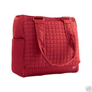 NEW LUG TRAVEL CABBY SCHOOL DIAPER TOTE RED BAG Gift