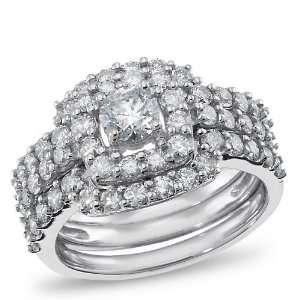 Calista, 14K White Gold Diamond Engagement Ring, 1.00 ctw